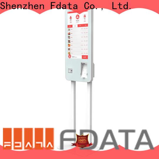 Fdata custom hotel kiosk manufacturer for ordering