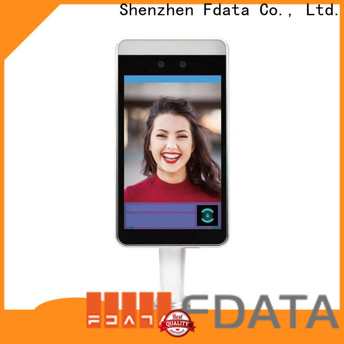 Fdata face scanner machine from China used in hotel