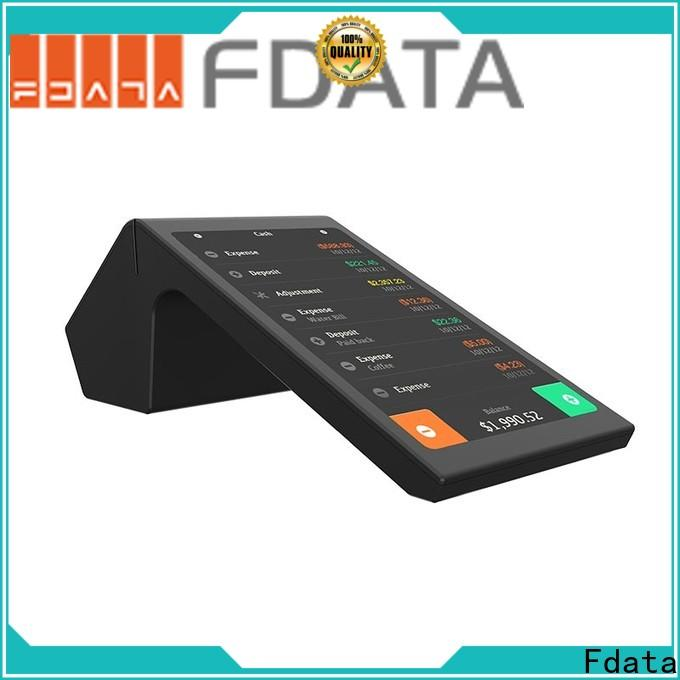 Fdata wifi-supportive payment terminal top brand for retail shops