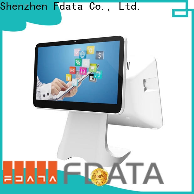 Fdata stable electronic cash register machine at discount for retail shops