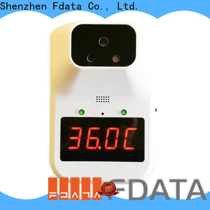 Fdata cost-effective face recognition thermometer from China