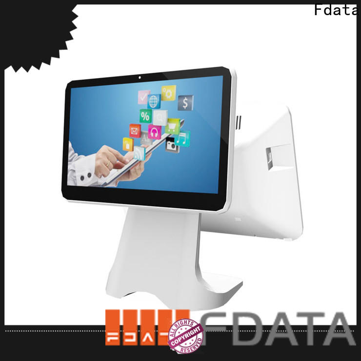 Fdata small restaurant cash register from China for coffee shop