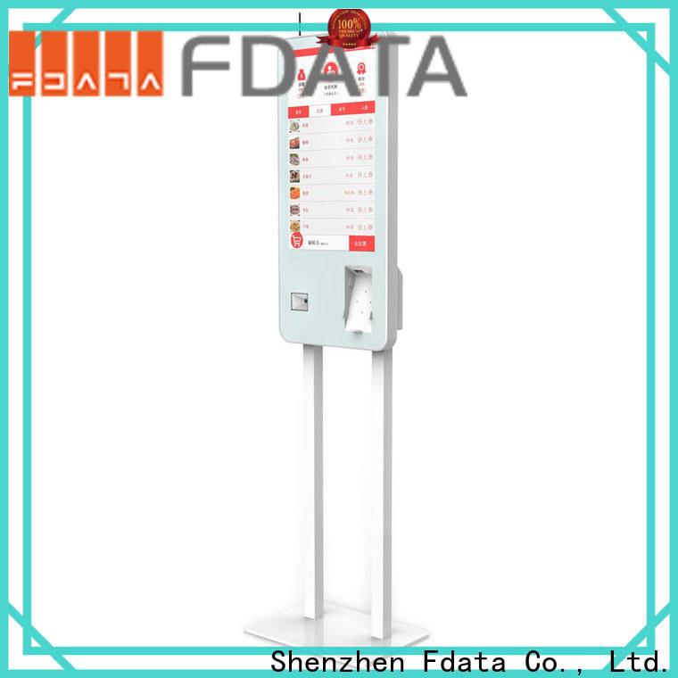 Fdata popular smart self service kiosk factory price for chain shops