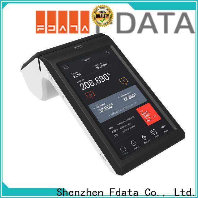 Fdata handheld android pos supplier for restaurant