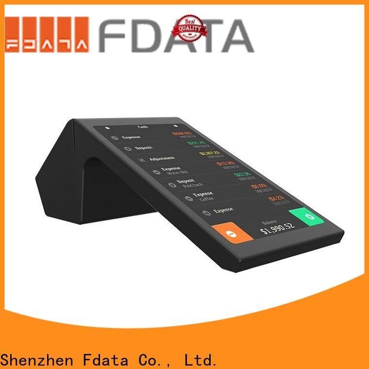 Fdata multi-language pos wireless terminal promotional for coffee shop