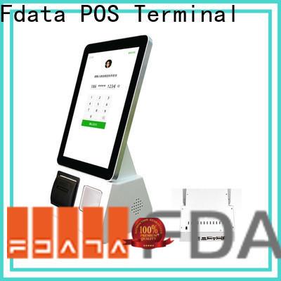 Fdata shopping mall kiosk easy operation for chain shops