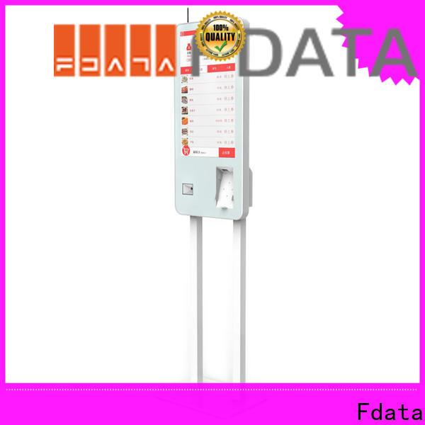 Fdata mall kiosk floor standing for ordering
