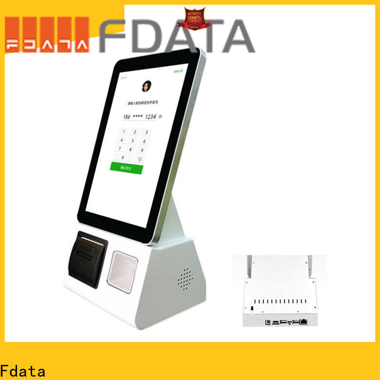 Fdata kiosk equipment factory price shopping malls