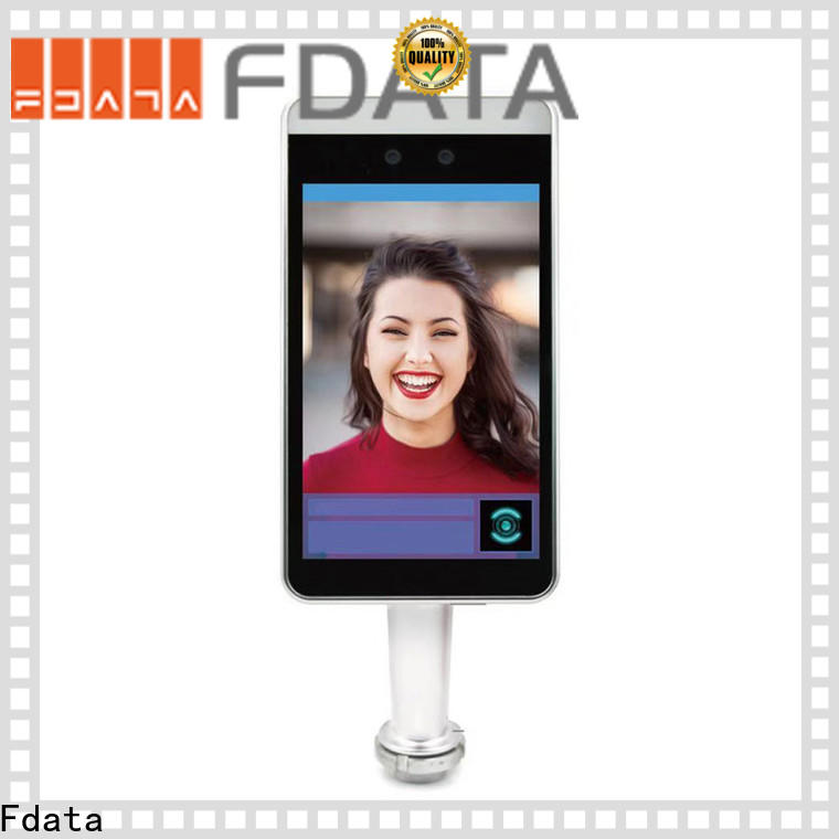 Fdata biometric face recognition system supplier used in retail