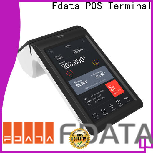 Fdata types of pos terminals energy-saving for retail shops