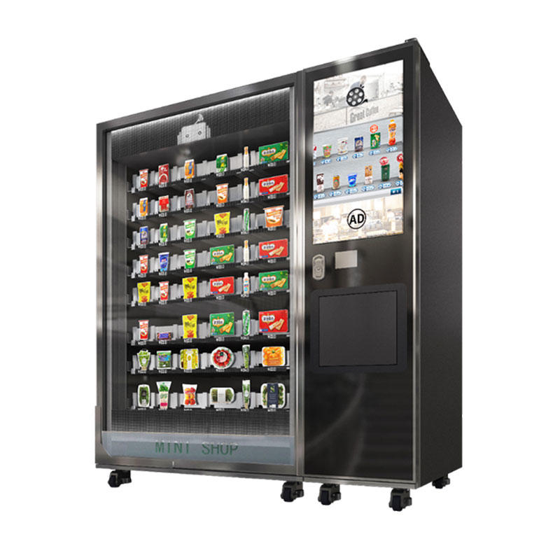 Snack and drink smart vending machine