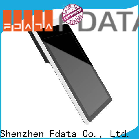 Fdata quality andriod pos promotional with bar code reader