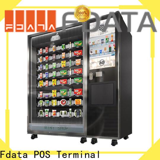 Fdata hotel self ordering kiosk easy operation for ordering