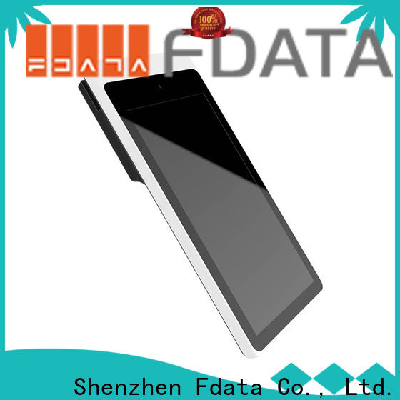 Fdata reliable mobile pos devices at discount with bar code reader