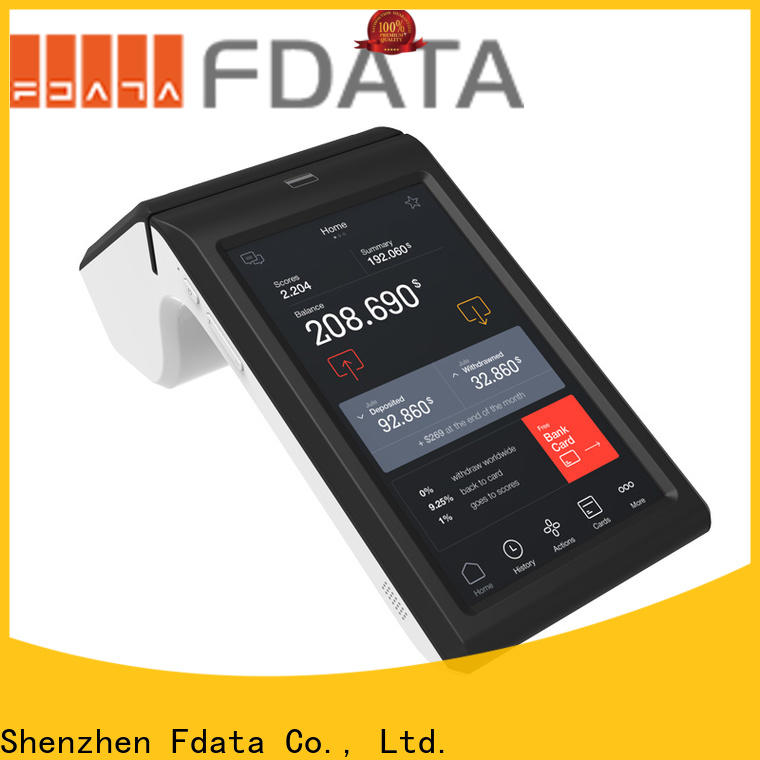 Fdata wireless pos cost-effective with bar code reader