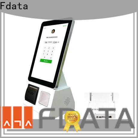 Fdata convenient ticket kiosk wall-mounted at discount