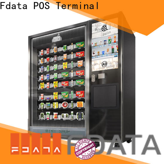 Fdata kiosk terminal wall-mounted for chain shops
