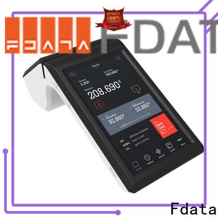 Fdata handheld wireless pos cost-effective best tablet solution