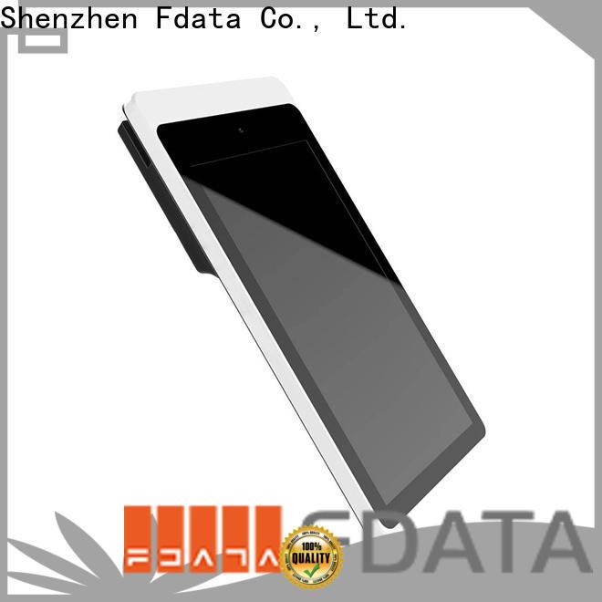 Fdata nfc pos terminal factory with bar code reader