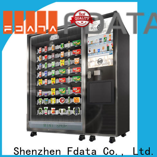Fdata multi-functional touch screen computer kiosk from China shopping malls
