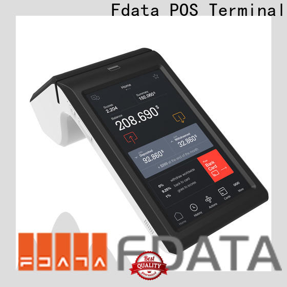 Fdata free mobile pos energy-saving for retail shops