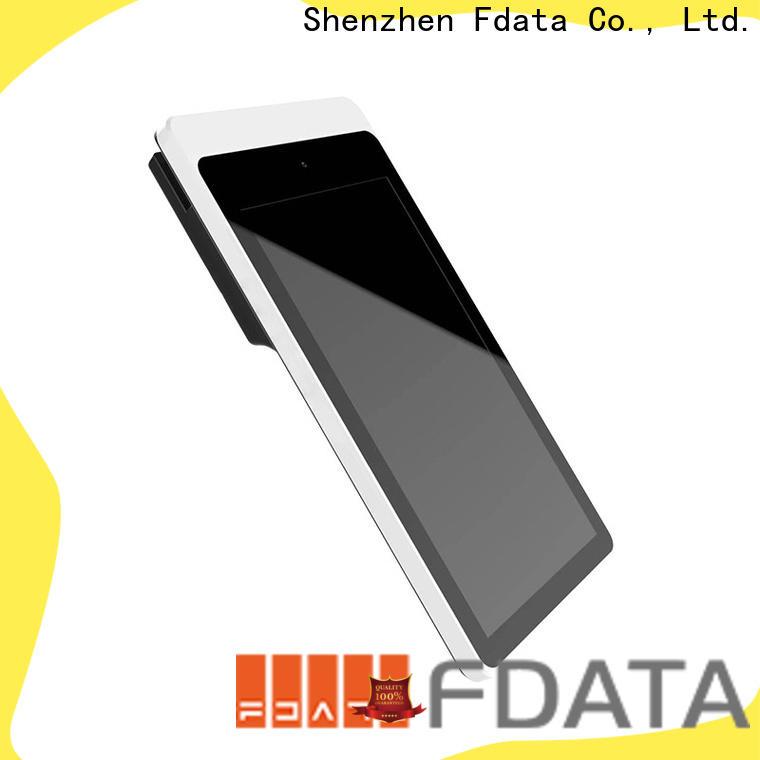 Fdata handheld wireless pos high-quality with bar code reader