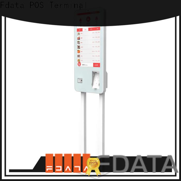 Fdata kiosk solution provider factory price for supermarket