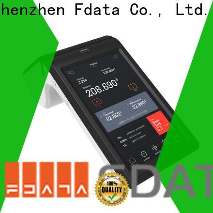 Fdata sturdy wifi pos terminal supplier best tablet solution