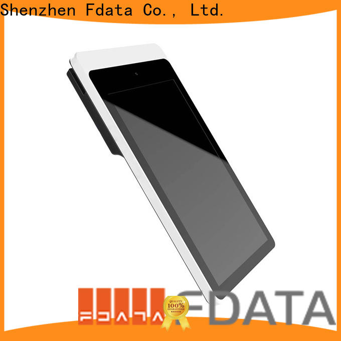 Fdata dual display android based pos system supplier best tablet solution