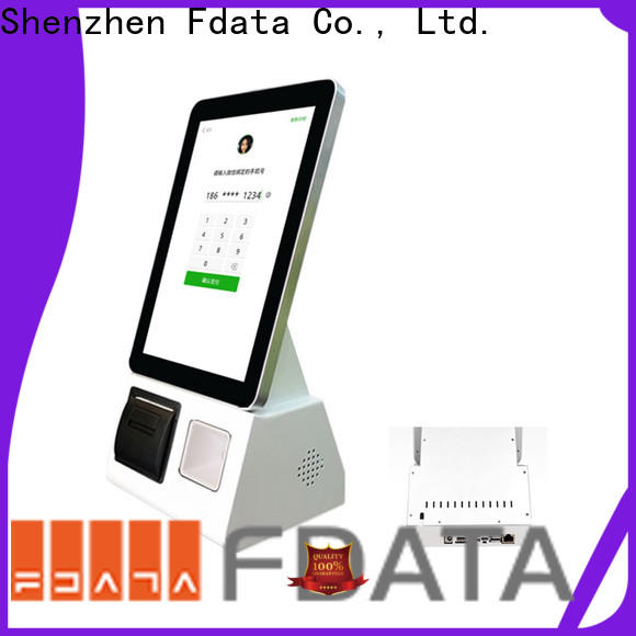 Fdata custom self service kiosk design at discount