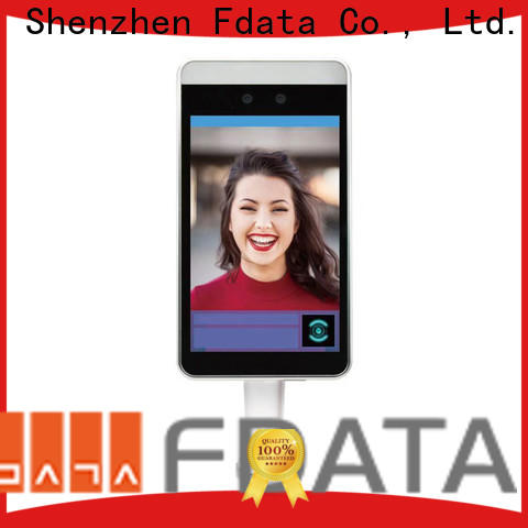 Fdata biometric attendance system face recognition series used in restaurant