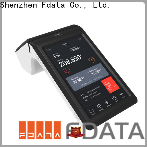 Fdata custom android pos inquire now for retail shops