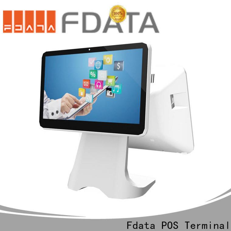 Fdata electronic cash register machine series for coffee shop