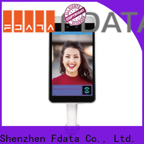 Fdata facial recognition scanner factory direct supply used in hotel