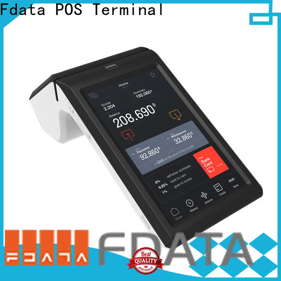 Fdata multi-functional android mobile pos factory for retail shops