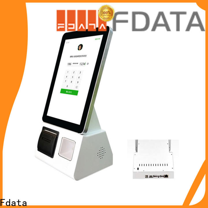 cost-effective touch screen kiosk supplier for restaurant