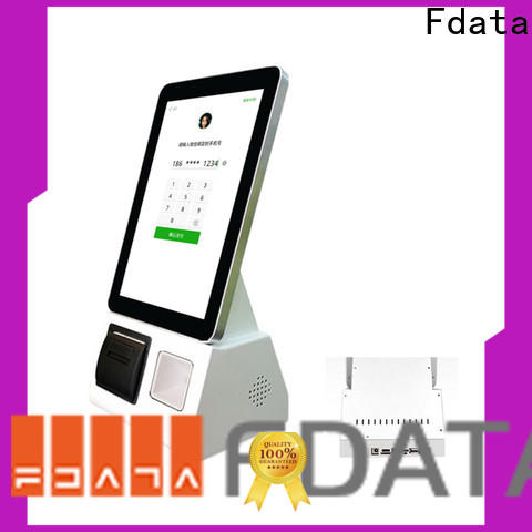 Fdata service kiosk manufacturer shopping malls