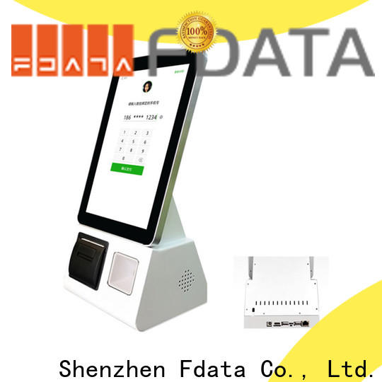 multi-language android based kiosk easy-installation for chain shops