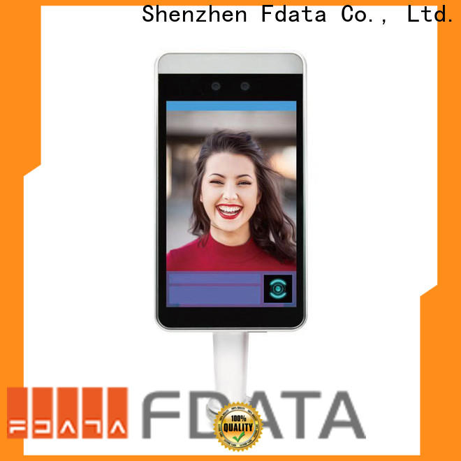 Fdata high quality face recognition attendance system from China used in hotel