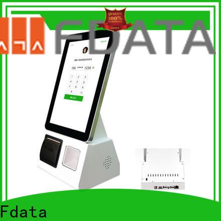 Fdata interactive kiosk supplier for restaurant
