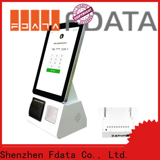 Fdata wifi-supportive outdoor kiosk from China shopping malls